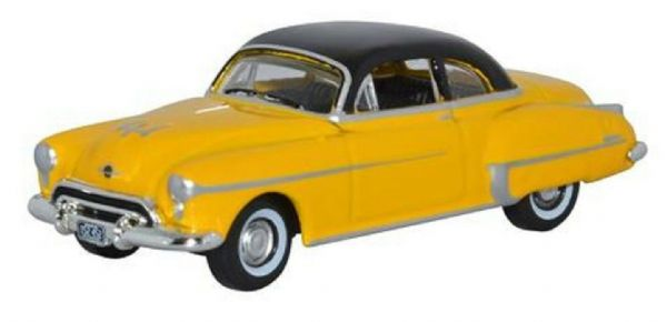Oxford USA 87OR50003 OR50003 1/87 HO Oldsmobile Rocket 88 1950 Yellow Black